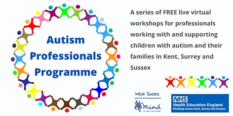 Sensory Processing on the Autism Spectrum (for professionals) tickets