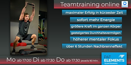 Pat Elements Teamtraining online Tickets