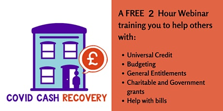 COVID Cash Recovery (West Mids)  Train the Trainer Session 15 December 2020 tickets