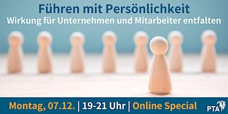 Führen mit Persönlichkeit | PTA Online Special – Praxisbezogen & Interaktiv Tickets