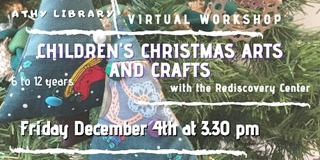 Christmas Arts and Crafts Workshop for Kids. tickets
