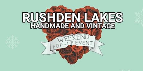 Rushden Lakes Handmade and Vintage Christmas Market tickets