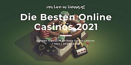 """Online Glücksspiel Seminar für Anfänger """"Die Besten Online Casinos 2021"""" Tickets"""