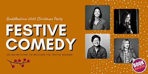 BookMachine Christmas Party 2020: Festive Comedy