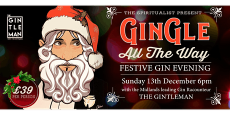 GinGle all the way, Gin Tasting Experience tickets