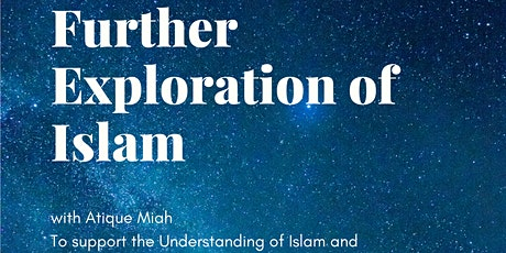 Further Exploration of Islam tickets