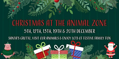 Christmas at the Animal Zone tickets