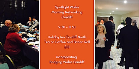 Spotlight Wales Morning Networking (Cardiff) tickets