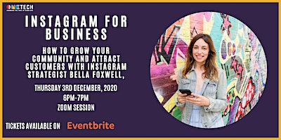 Instagram for Business with Bella Foxwell