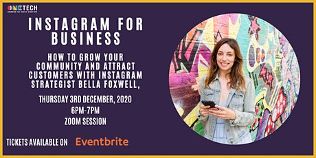 Instagram for Business with Bella Foxwell tickets