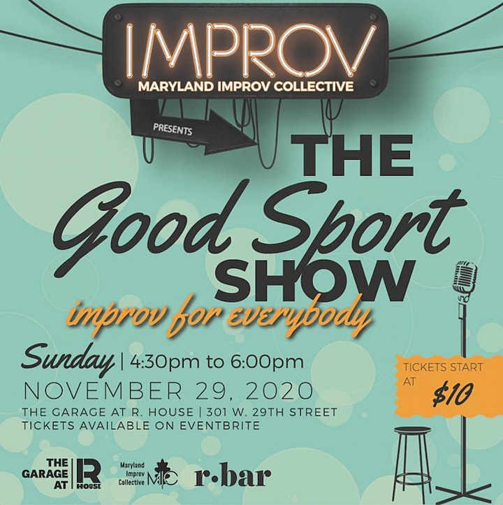 Maryland Improv Collective presents The Good Sport Show image