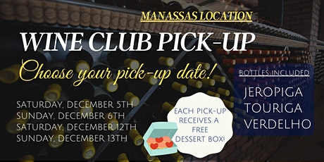 Member Wine Pick-up at Aroma Wine Tasting tickets