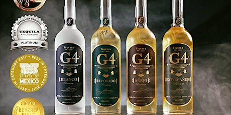 Virtual Tasting of G4 Tequila tickets