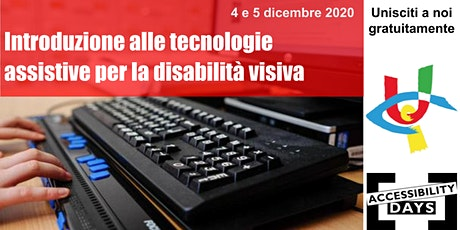 "Workshop ""Le tecnologie assistive per la disabilità visiva"" biglietti"