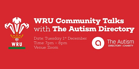 WRU Community Talks with The Autism Directory tickets