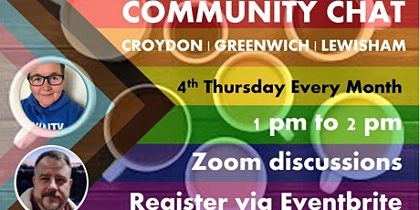 LGBTQ+ Community Chat - Croydon | Greenwich | Lewisham tickets