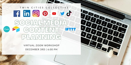 Social Media Content Planning Workshop tickets