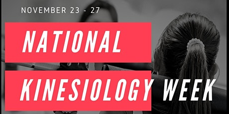 National Kinesiology Week tickets