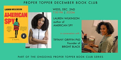 Lauren Wilkinson (AMERICAN SPY) in conversation with Tiffany Griffin tickets