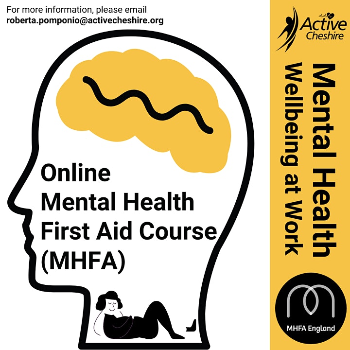 Adult MHFA Two Day Classroom (4 to 11 March 2021) image