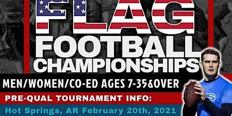 TUFF ON THA TURF Flag Football TENNESSEE State Preliminary billets