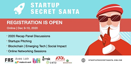Startup Secret Santa tickets