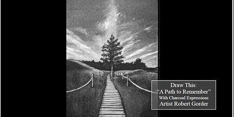 Virtual Charcoal Drawing Event -A path to Remember tickets