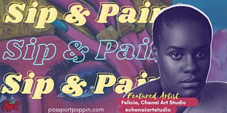 Virtual Sip & Paint tickets