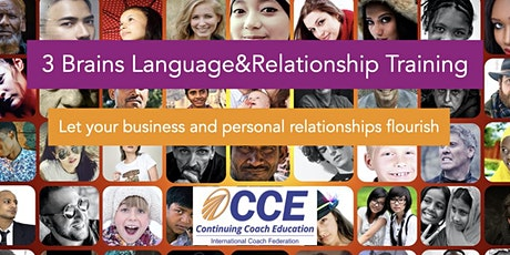 The 3 Brains Language & Relationships Training ICF CCE  the new science tickets