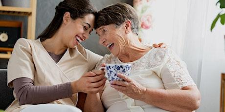 Neustart Pflege kostenloser Berufsorientierungskurs im Bereich Pflege Tickets