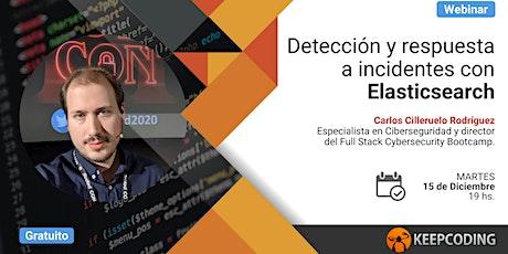 Webinar: Detección y respuesta a incidentes con Elasticsearch entradas