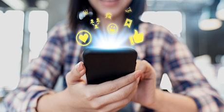 Sharing Content On Social Media tickets