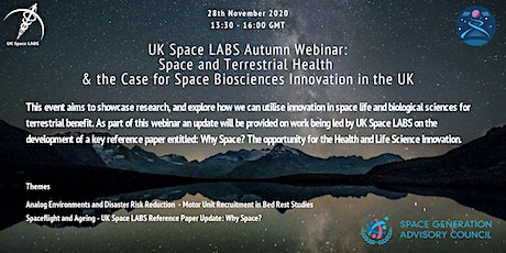 UK SpaceLABS x SGAC Autumn Webinar tickets