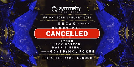 [CANCELLED] Symmetry Recordings - London tickets
