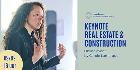 Keynote  // Real Estate & Construction tickets