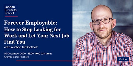 How to become 'Forever Employable' with Jeff Gothelf tickets
