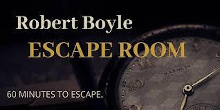 Robert Boyle Escape Room image