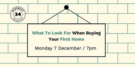 What To Look For When Buying Your First Home tickets