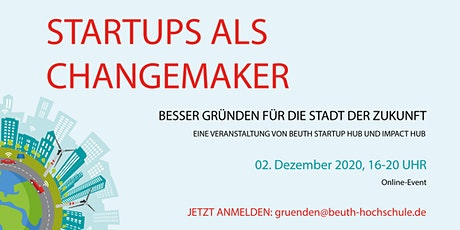 Startups als Changemaker Tickets