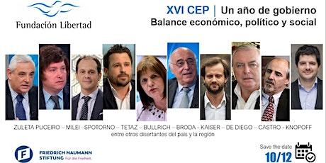 XVI Congreso de Economía Provincial de la Fundación Libertad entradas