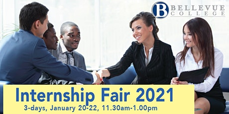 Internship & Job Fair 2021 (Virtual) - 3 days, 20-22 January 2021 tickets