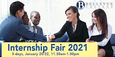 Internship & Job Fair 2021 (Virtual) - 3 days, 20-22 January 2021 entradas
