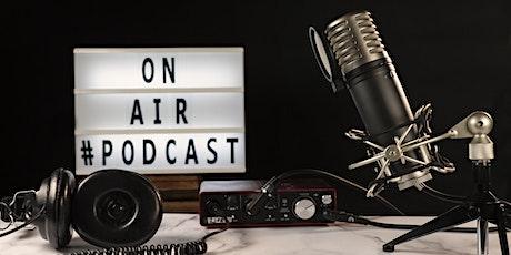 Junior Podcasting Session - Free online workshop tickets