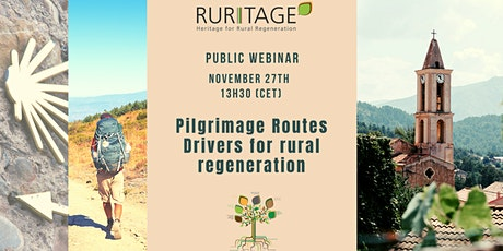 Pilgrimage Routes, drivers for rural regeneration. tickets