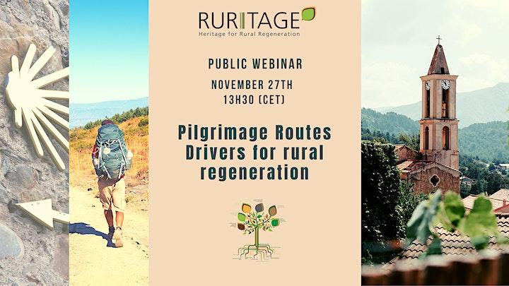 Pilgrimage Routes, drivers for rural regeneration. image