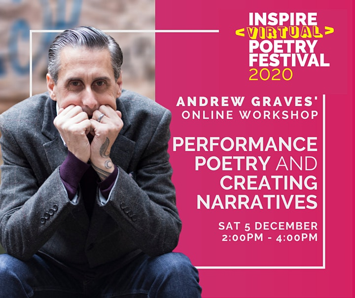 Andrew Graves: Performance Poetry and Creating Narratives Workshop image