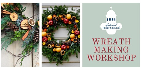 Colonial Wreath Making Workshop tickets