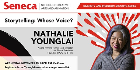 Storytelling: Whose Voice? Seneca SCAA Diversity and Inclusion Speaking Ser tickets