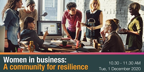 Women in Business: A community for resilience tickets