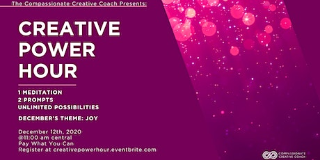 Creative Power Hour-An Online Creative Workshop tickets